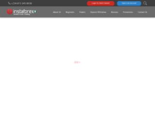 instaforex-africa.com screenshot