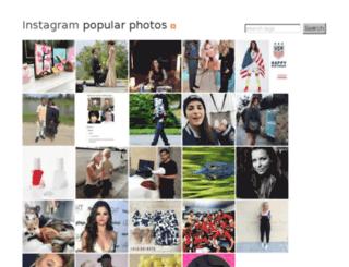 instagram.heroku.com screenshot