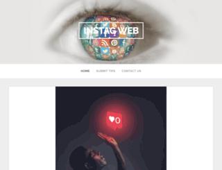 instagweb.com screenshot