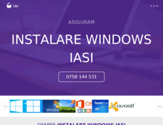 instalare-windows-iasi.com screenshot