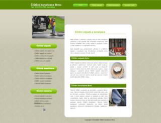 instalater-cisteni-kanalizace-brno.eu screenshot