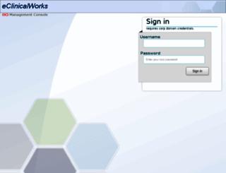 install.eclinicalweb.com screenshot