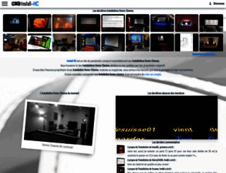 installations-home-cinema.eu screenshot