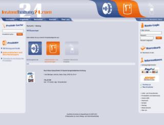 instandhaltung24.com screenshot