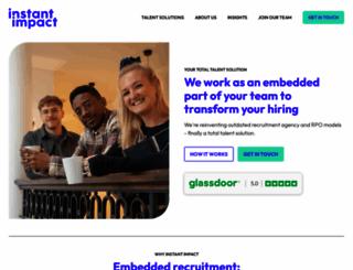 instant-impact.com screenshot