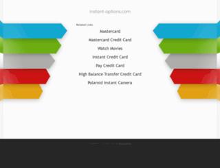 instant-options.com screenshot