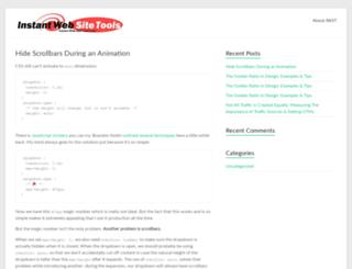 instant-web-site-tools.com screenshot