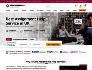 instantassignmenthelp.com screenshot