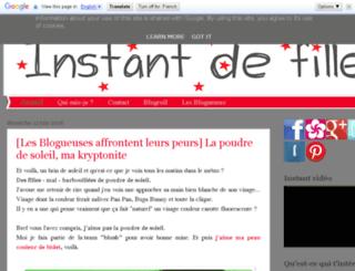 instantdefille.blogspot.fr screenshot