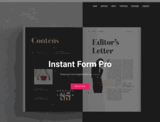 instantformpro.com screenshot