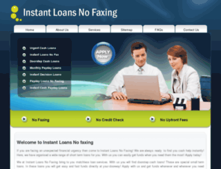 instantloansnofaxing.me.uk screenshot