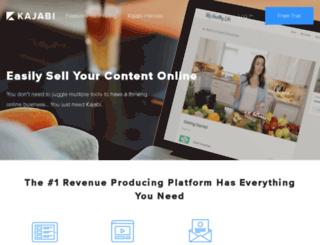 instantmarketingcelebrity.kajabi.com screenshot