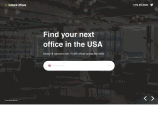 instantoffices.com screenshot