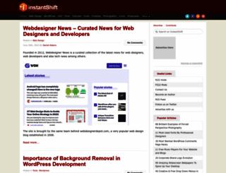 instantshift.com screenshot