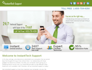 instanttechsupport.us screenshot