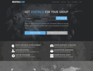 instantventrilo.com screenshot