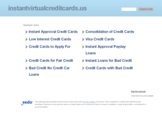 instantvirtualcreditcards.us screenshot