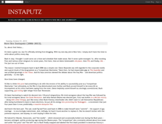 instaputz.blogspot.com screenshot