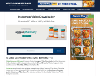 instavideo-downloader.com screenshot
