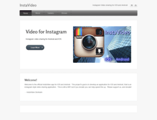 instavideo.weebly.com screenshot