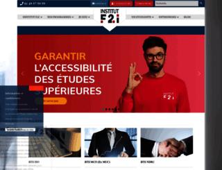 institut-f2i.fr screenshot