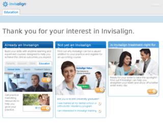 institute.aligntech.com screenshot