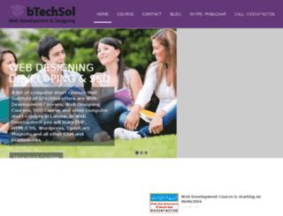 institute.btechsol.com screenshot