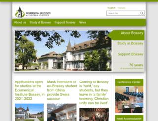 institute.oikoumene.org screenshot