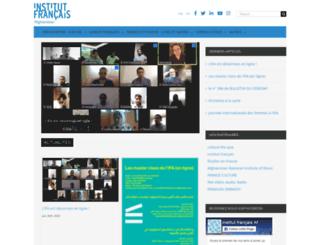 institutfrancais-afghanistan.com screenshot