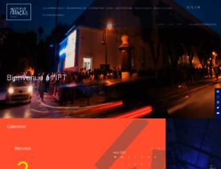institutfrancais-tunisie.com screenshot