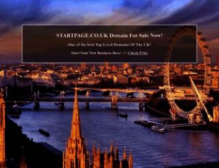 institutions.startpage.co.uk screenshot