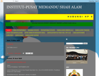 institutmemandu-belajarmemandu.blogspot.com screenshot