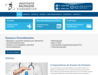 institutobalthazar.com.br screenshot