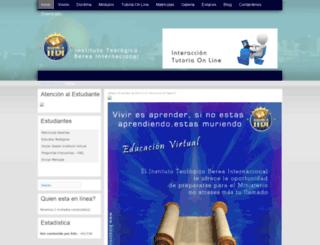 institutoberea.net screenshot