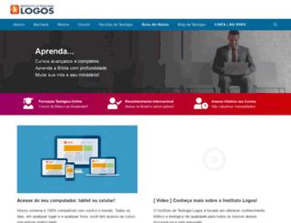 institutodeteologialogos.com.br screenshot