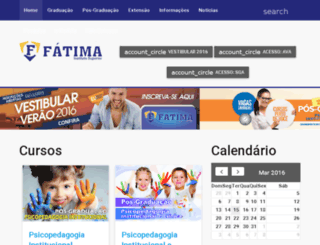 institutofatima.edu.br screenshot