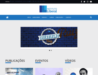 institutoliberal.org.br screenshot