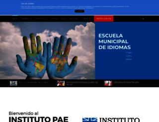institutopae.es screenshot