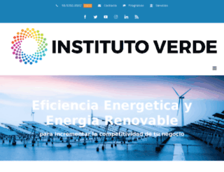 institutoverde.com screenshot