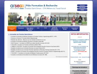 institutsaintsimon.com screenshot