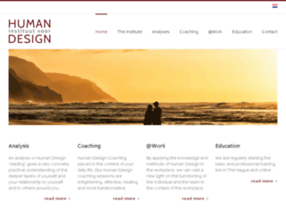 instituutvoorhumandesign.com screenshot