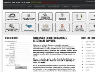 instock-electric.com screenshot