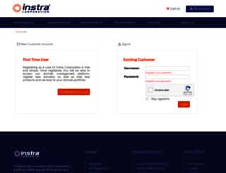 instra.secure-admin.com screenshot