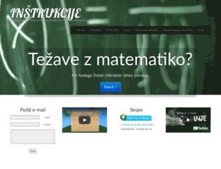 instrukcije.eu screenshot