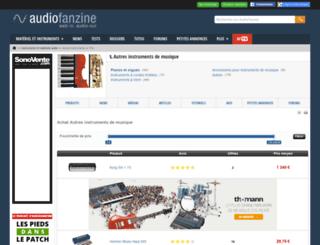 instrument-de-musique.sonicprice.fr screenshot
