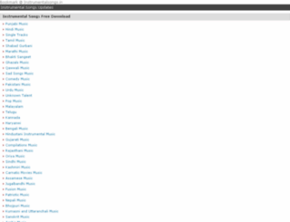 instrumentalsongs.in screenshot