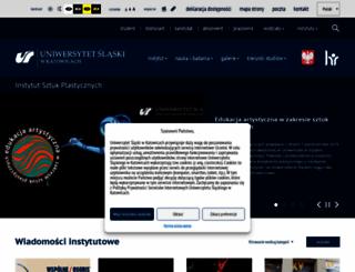 instytutsztuki.us.edu.pl screenshot