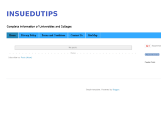 insuedutips.blogspot.com screenshot