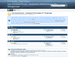 insulanerforum.de screenshot