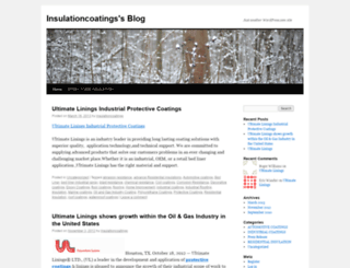 insulationcoatings.wordpress.com screenshot